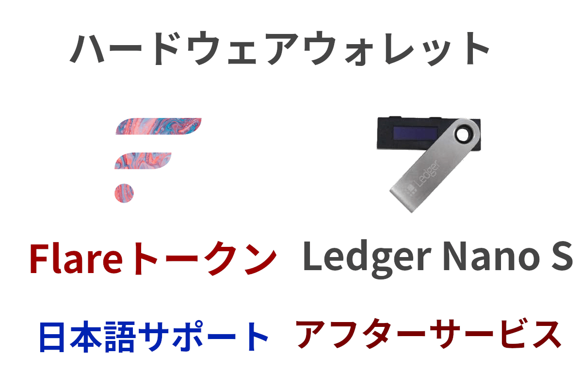 LedgerNanoSを日本語サポート充実で安く購入する裏技とFLRトークンの安全運用